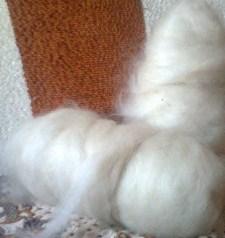 http://novohopersk-platok.ru/ Пух козий в мотках чесанный готовый к прядению оптом и в розницу от производителя