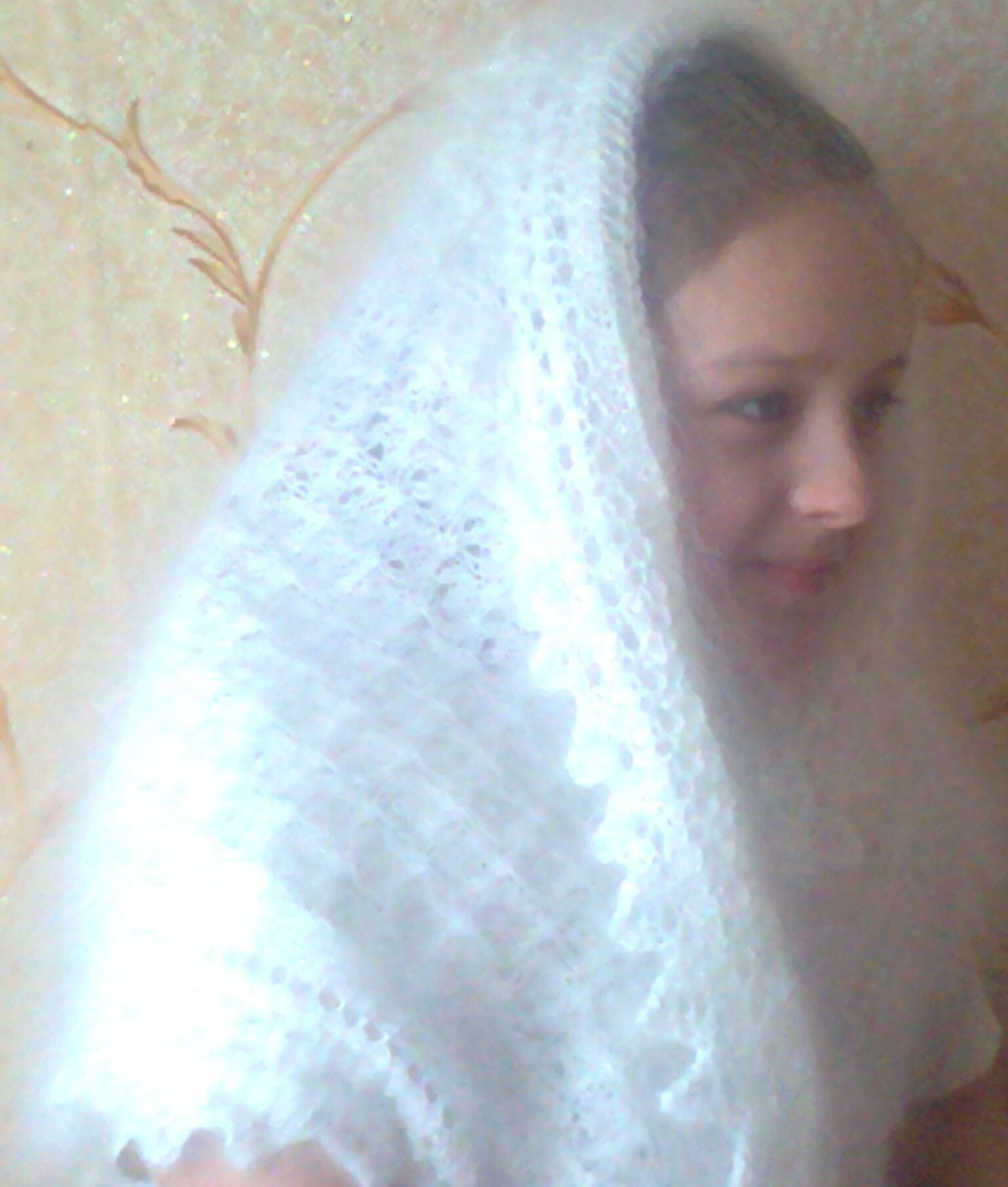 Связанные девушки платками 15 фотография