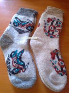 мужские шерстяные носки из овчиной шерсти