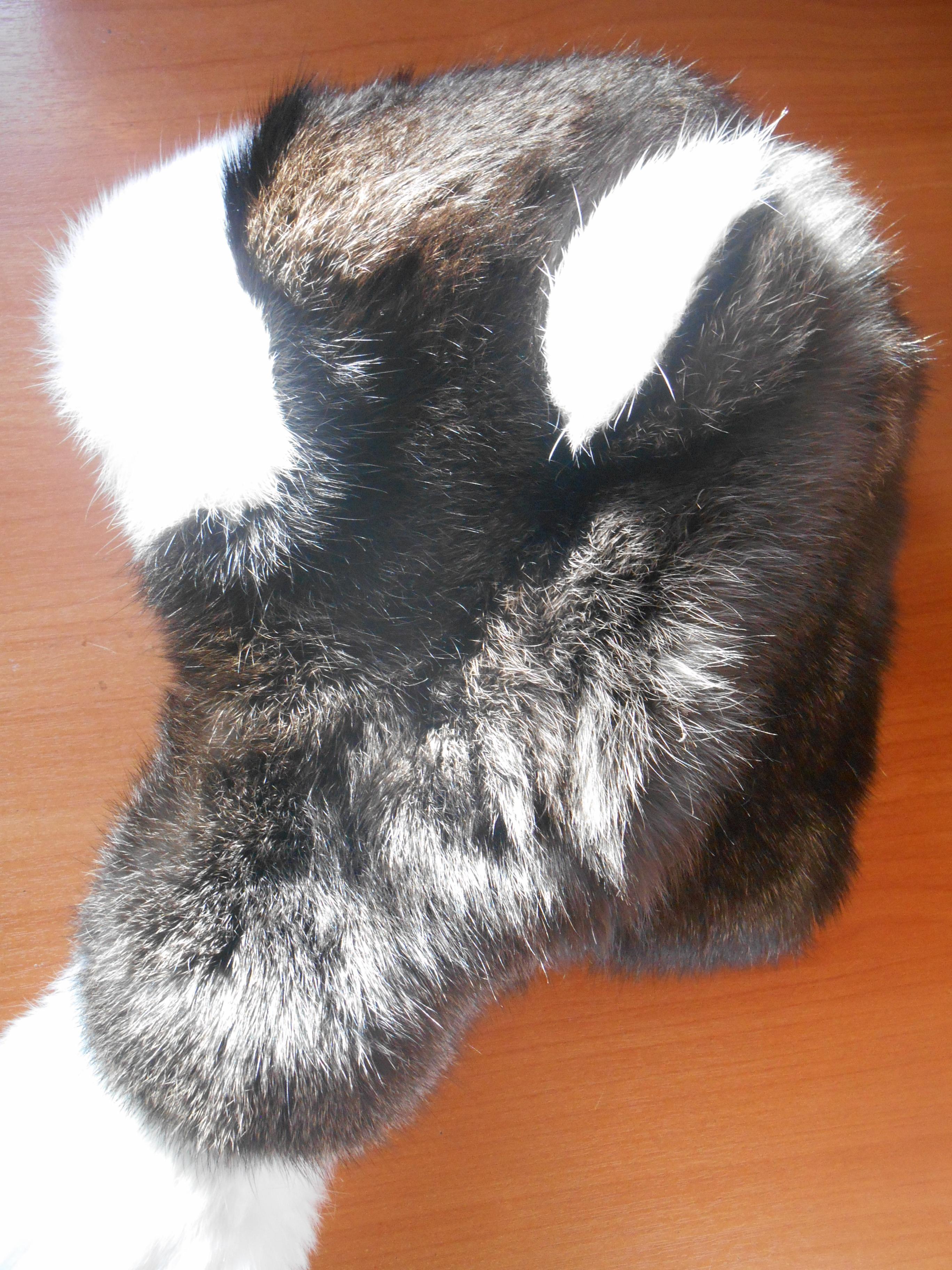 Сшить шапки из кролика 29
